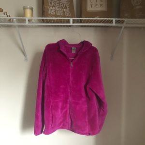 C9 Champion Magenta Purple/Pink Fuzzy Full Zip